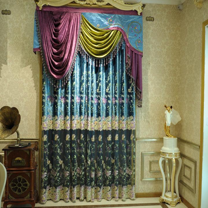 Drapery curtains (3)