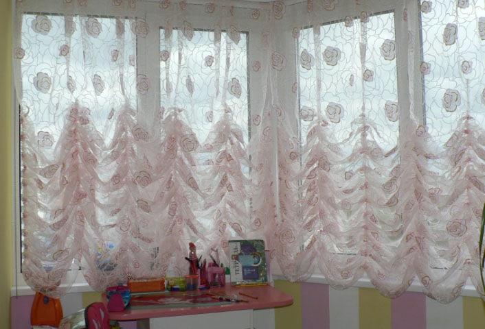 шторы маркиза в детской