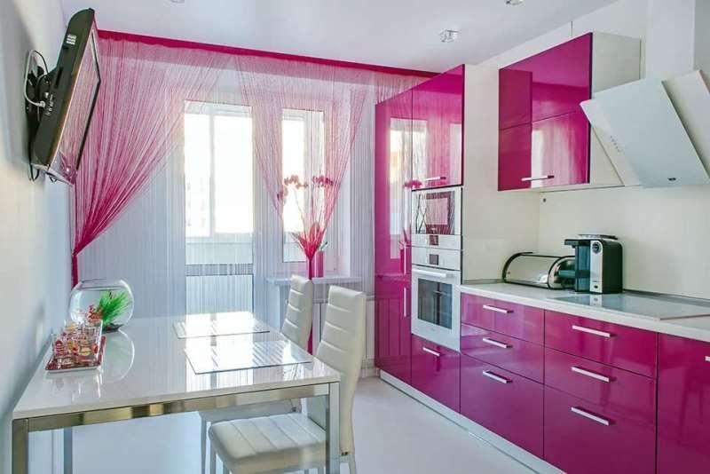 кисея в цвет кухонного гарнитура
