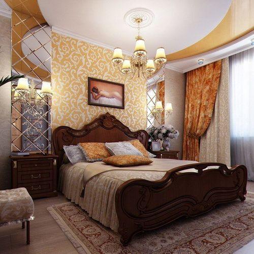 Красивый дизайн спальной