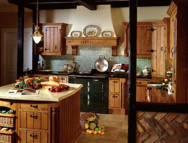 Кухня в стиле кантри.