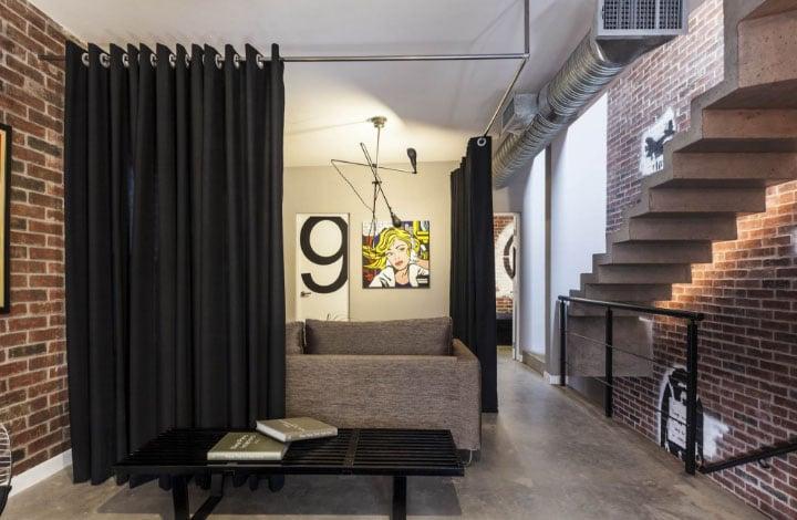 шторы в стильном доме