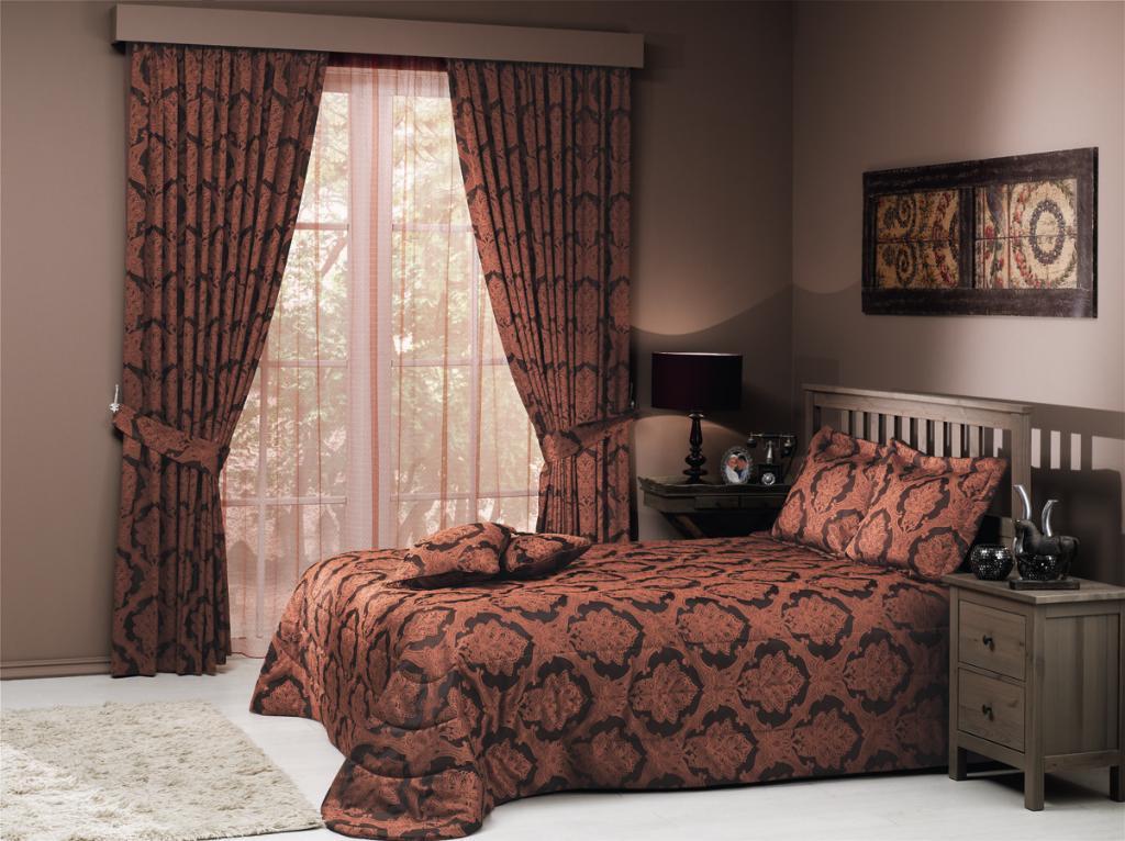 Турецкие ткани для штор в спальню