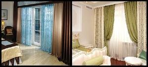 Учимся о выбирать шторы в спальню - советы дизайнера