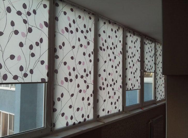 шторы на балконные окна