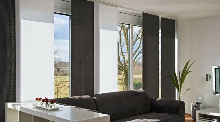Панельные шторы под цвет мебели