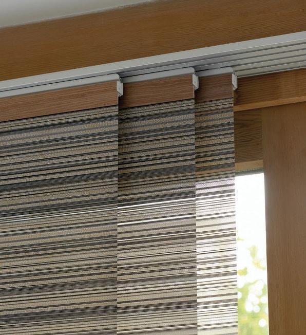 крепление панельных штор