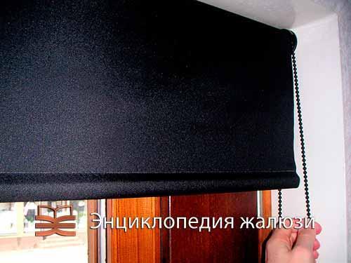 Свободновисящие системы рулонных шторы с тканью блэкаут