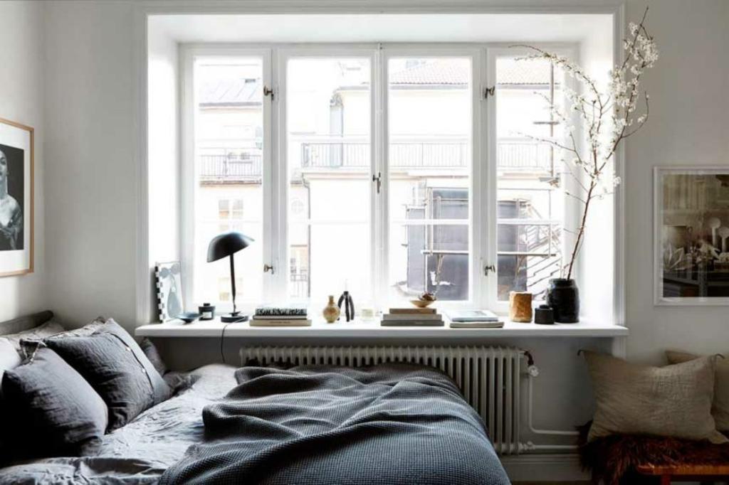 В Швеции нет штор на окнах