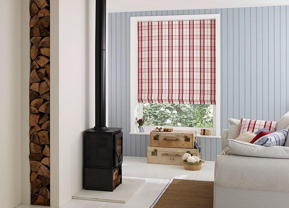 Римские шторы для гостиной