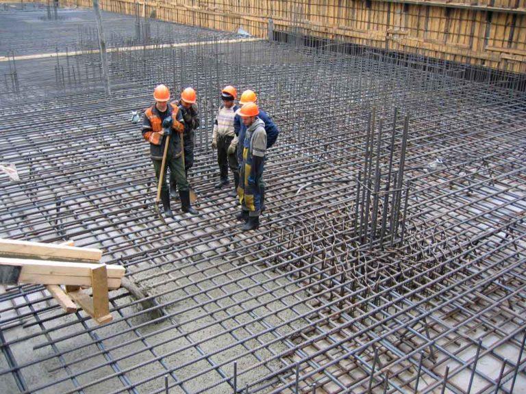 Бетон для строительства фундамента