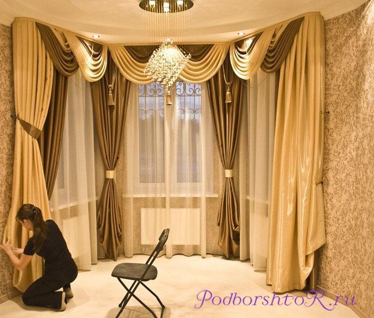Шторы и тюль для гостиной