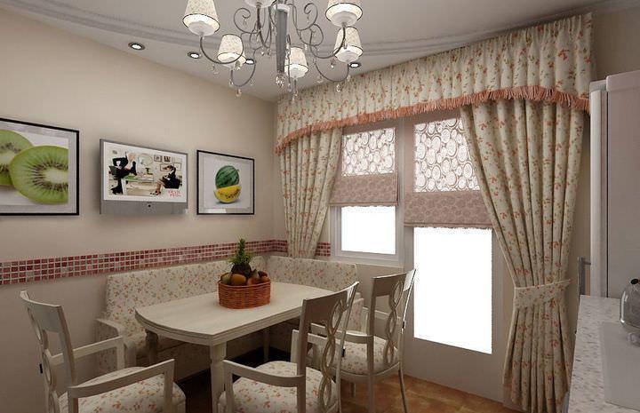 Входя в комнату, в первую очередь взгляд падает на окна, следовательно большое значение имеет их оформление