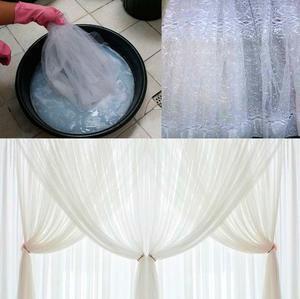 Как правильно постирать тюль и другие виды штор