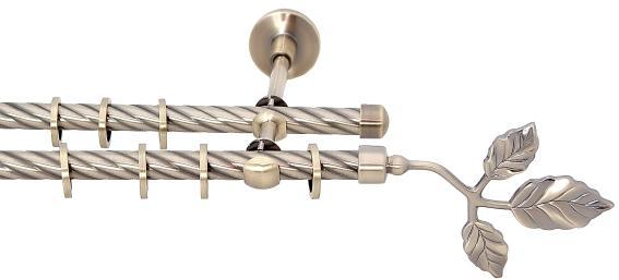 Двухрядный металлический вариант