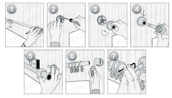 Как установить пластиковый карниз на стену: порядок монтажа в картинках