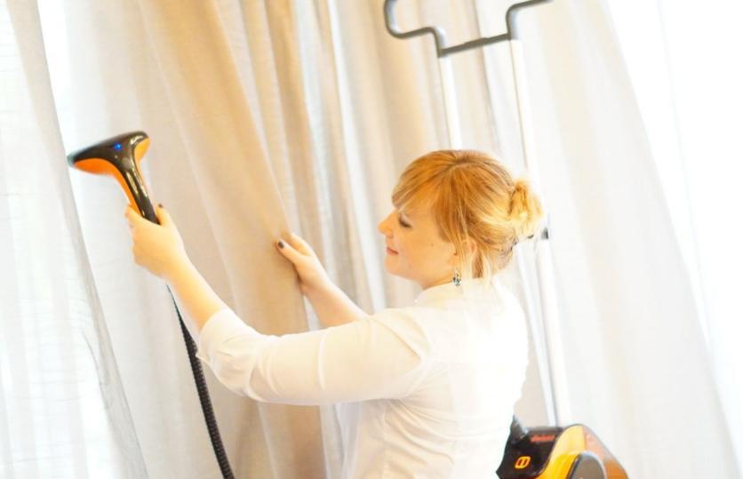 Выбирая отпариватель для штор, обращайте внимание на его технические характеристики
