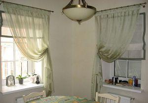 Дачные шторы - варианты дизайна