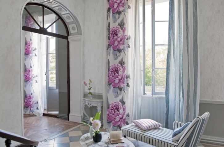 ситцевые шторы