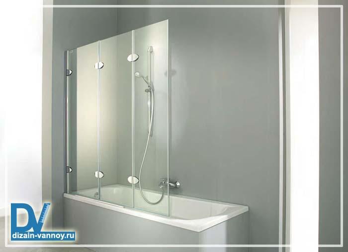 установка шторки на ванну видео