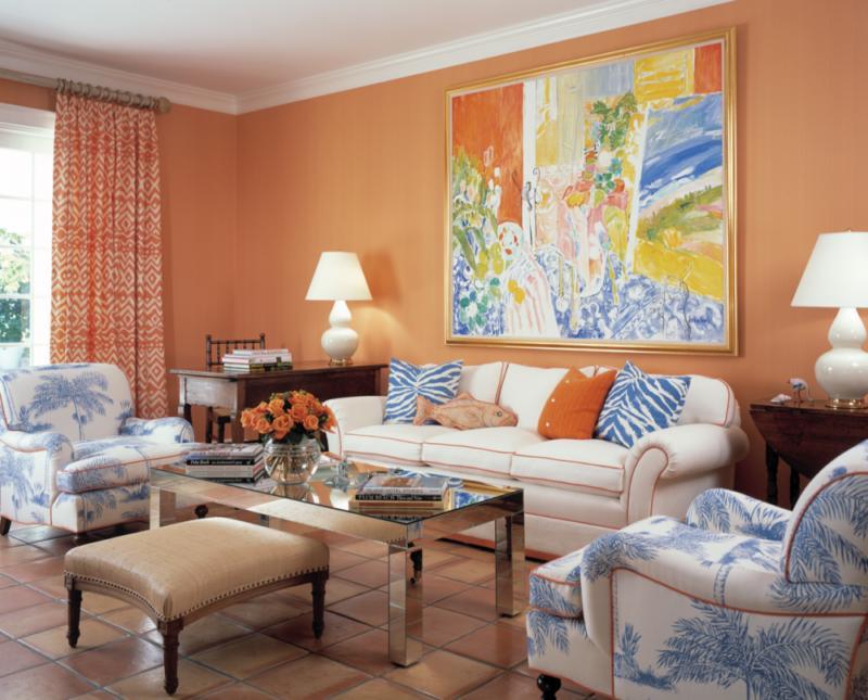Оранжевая гостиная (3)