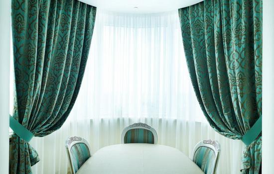 шторы в стильном интерьере