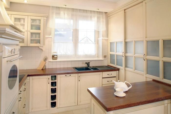 маленькие шторы на кухню