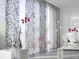 Экранные шторы лучше всего подходят для просторных помещений с большими окнами
