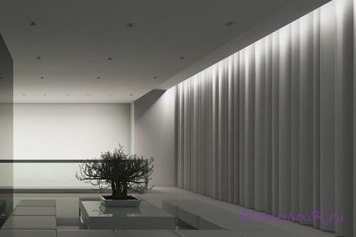 рассеянный (отраженный) свет подсветки