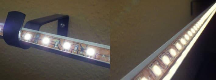 светодиодная подсвтека на любые шторы