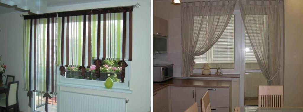 Важное правило выбора штор на кухню — не перегружать их различными декоративными рисунками, иначе они будут выглядеть безвкусно