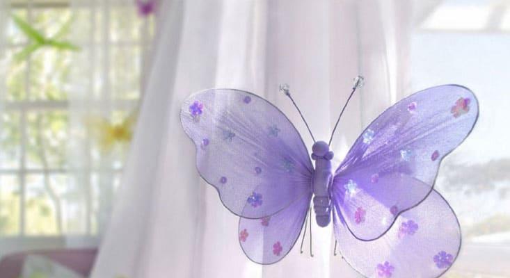 Бабочка для шторы