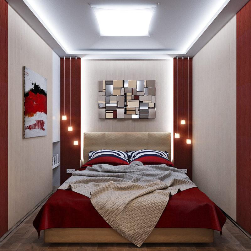 Спальня в хрущевке (44)