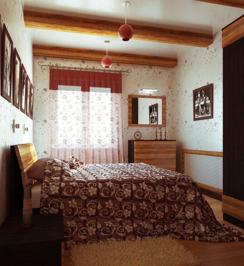 Спальня в хрущевке (38)