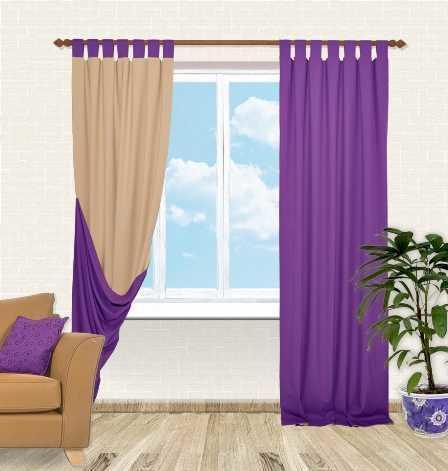 Двухсторонние шторы подойдут для людей, которые всегда находятся в движении и желают быть в тренде