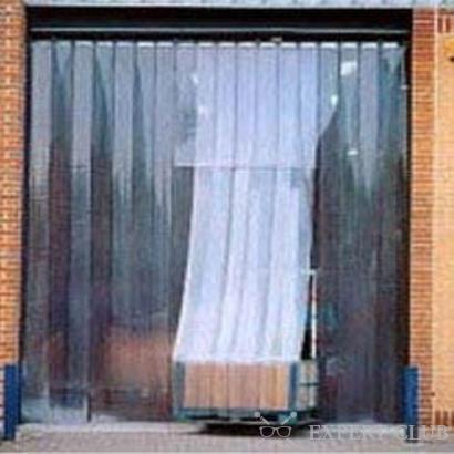 Штора для гаража по типу японской шторы