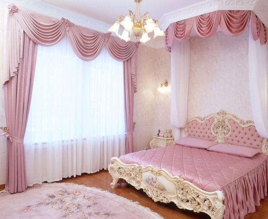 Шторы в спальне