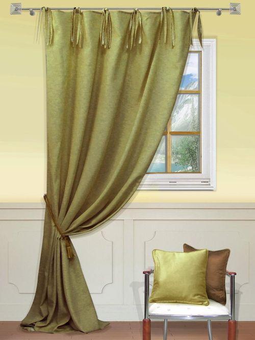Выбираем шторы оливкового цвета