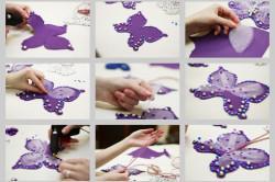 Этапы изготовления бабочки своими руками