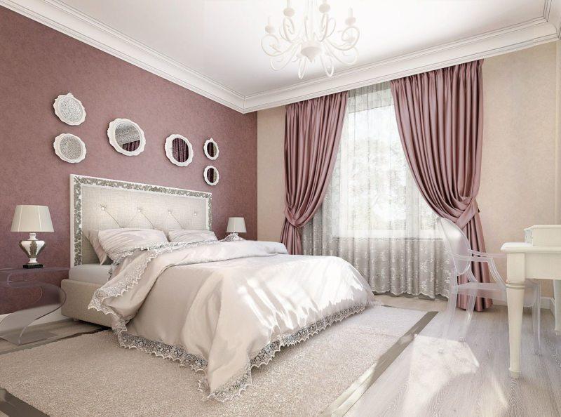 Занавески в спальню (45)