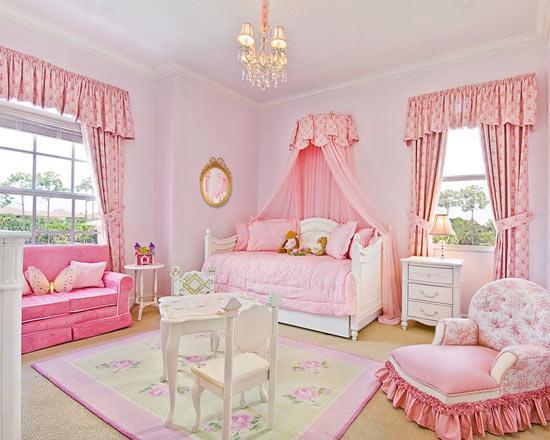Дизайн детской комнаты девочек