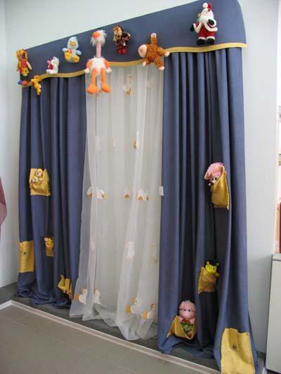 Дизайн штор в комнате мальчика