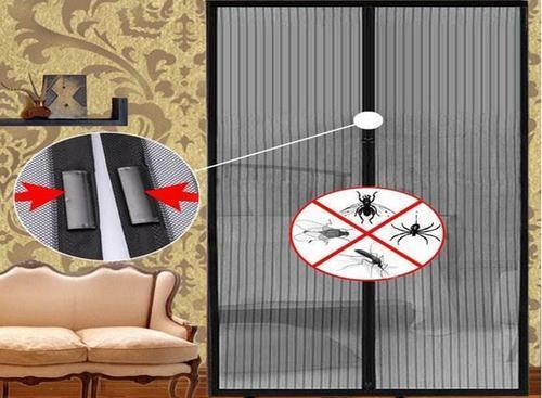 магнитные москитные шторы на двери