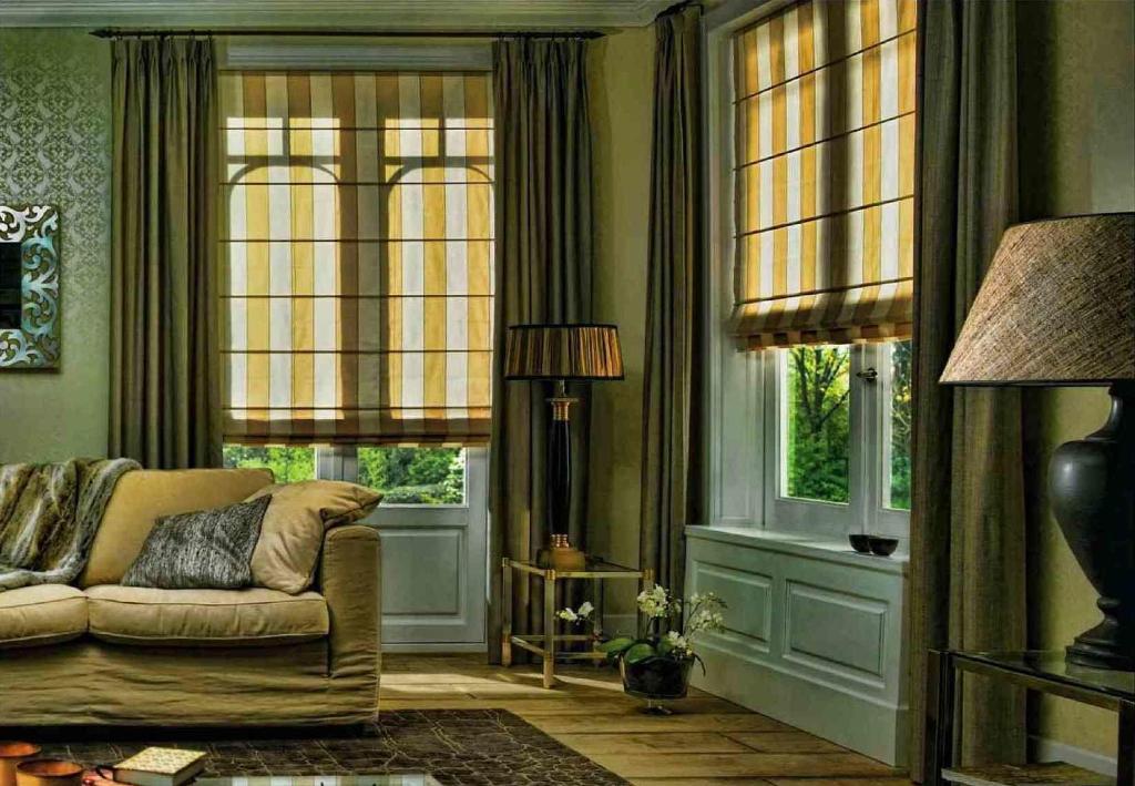 Хорошие греческие шторы должны отталкивать влагу и жир