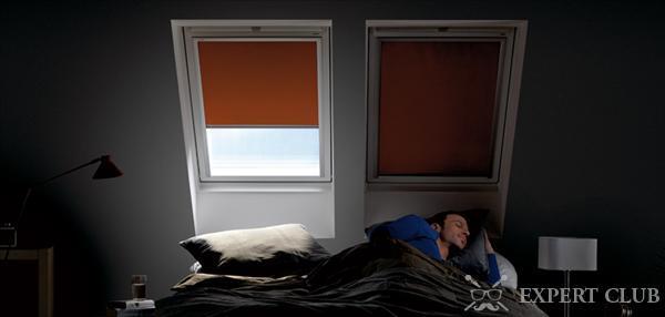 Светонепроницаемые шторы практически не пропускают солнечный свет