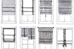 Изготовление римской шторы своими руками из подручных материалов