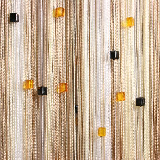 Нитяные шторы своими руками