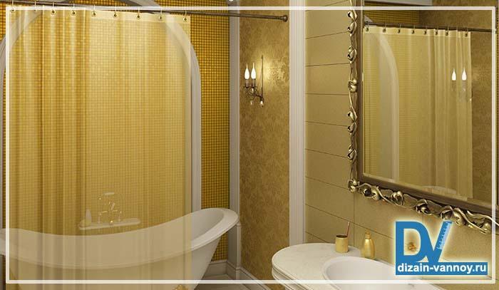 как выбрать шторку для ванной
