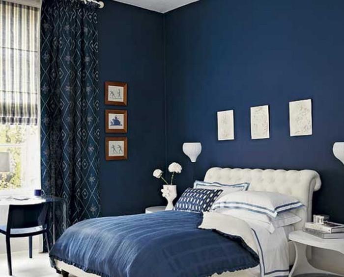 Создание контрастного интерьера в спальне