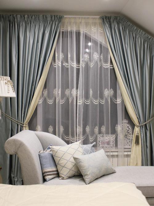 Двойные шторы, двухслойные занавески, их виды и способы комбинирования